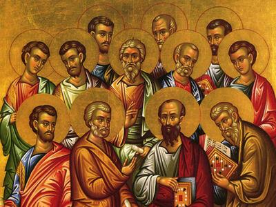 Η Παντάνασσα τιμά τους Δώδεκα Αποστόλους