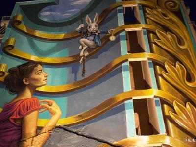 Δείτε πώς φτιάχτηκε ένα από τα πιο γνωστά γκράφιτι της Πάτρας, σε ένα βίντεο