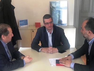 Αίγιο: Συναντήσεις Καλογερόπουλου στα Υπουργεία