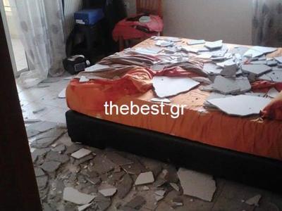 Δυτική Ελλάδα:Κατέρρευσε το ταβάνι της κ...