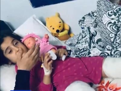 Σύμβολο στον αγώνα κατά των Τούρκων η 8χρονη Σάρα