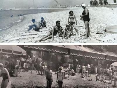 Δύσκολο να τις αναγνωρίσετε αλλά ήταν δυο δημοφιλείς παραλίες της Πάτρας σε μια άλλη... εποχή