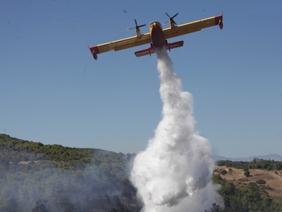 Ναύπλιο: Σε εξέλιξη η φωτιά στην περιοχή...