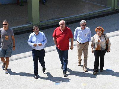 Στο Στρούμπειο ψήφισε ο δήμαρχος Πατρέων