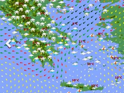 """Καιρός: Προ των πυλών η «Ωκεανίς» από τη Σιβηρία! Πού και πότε θα χτυπήσει – """"Βουτιά"""" 10 βαθμών στη θερμοκρασία – ΔΕΙΤΕ ΧΑΡΤΕΣ&ΒΙΝΤΕΟ"""