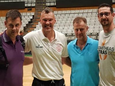 Το επιτελείο του Προμηθέα στο σεμινάριο των προπονητών της Ευρωλίγκας- ΦΩΤΟ
