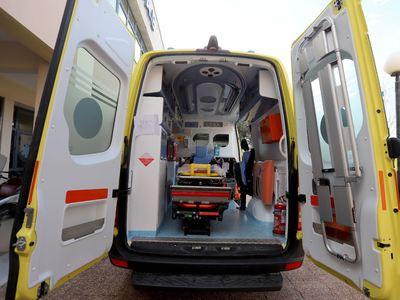 Αγρίνιο: Νεαρός τραυματίας σε τροχαίο στη Βαρειά Τριχωνίδας