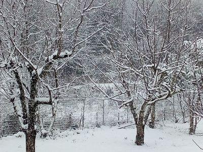 Χιόνι στην Άνω Καλλιθέα και στη Χαλανδρίτσα - Σε λευκό κλοιό η Δυτική Ελλάδα - Χιόνι σε όλη την Ήπειρο και σε νησιά του Ιονίου -  ΔΕΙΤΕ ΦΩΤΟ