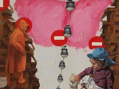 Πάτρα: Έκθεση ζωγραφικής του Κλεομένη Κωστόπουλου με τίτλο «homo mensura»