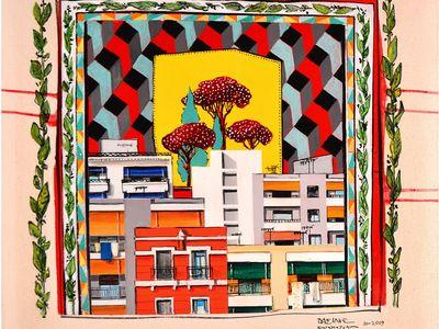 """Ξεκινά στην Cube η έκθεση του Βασίλη Καρακατσάνη """"Distinct District - Διακριτή Περιοχή"""" χωρίς εγκαίνια"""