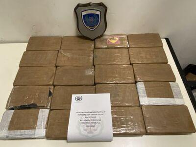 Πάτρα: Μετέφερε κοκαΐνη αξίας 956.000 ευ...