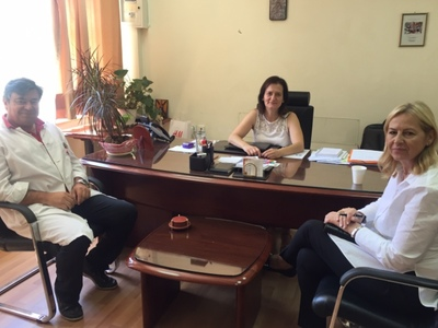 To Καραμανδάνειο Νοσοκομείο Παίδων επισκέφθηκε η υποψήφια βουλευτής Ευσταθία Γιαννιά