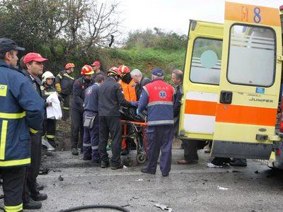 Νεκρός 33χρονος σε τροχαίο στη Θεσσαλονίκη