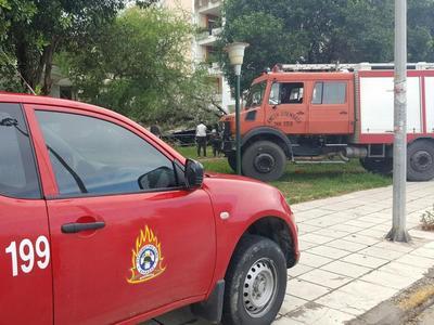 Πανικός στην Αγία Βαρβάρα της Πάτρας από φωτιά σε μονοκατοικία