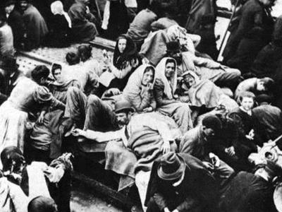 Οι πρώτοι μετανάστες της Πάτρας στην Αμε...