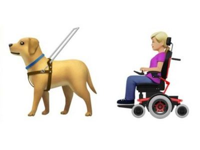 Η Apple παρουσίασε νέα emoji για τα άτομα με αναπηρία