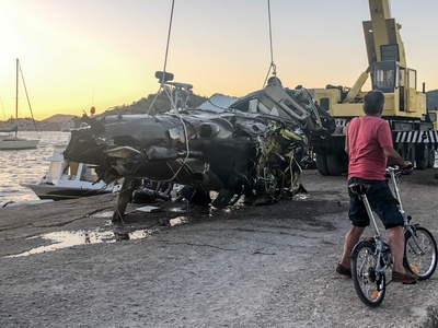 Γιατί έπεσε το ελικόπτερο στον Πόρο; Συγκλονίζει η κόρη του πιλότου