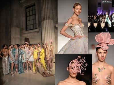 Celia Kritharioti: Φλας στη μαγευτική της couture μέσα στο Βρετανικό Μουσείο, ποιοι ήταν εκεί