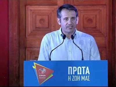Επανήλθε στη θέση του Συντονιστή της Νομαρχιακής ΣΥΡΙΖΑ Αχαΐας ο Μιχάλης Σιδηρόπουλος