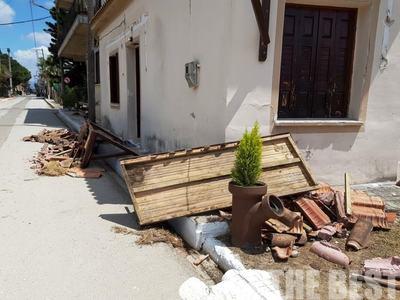 Καταγράψαμε ζημιές σε Αχαΐα και Ηλεία - Καταφθάνει κλιμάκιο