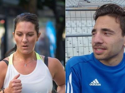 Πρωταθλητές Ελλάδας Δ. Τσορδιάς και Νίκη Ανδρεοπούλου