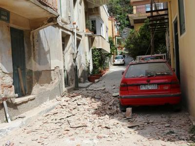 Νεός ισχυρός σεισμός χτύπησε τη Μυτιλήνη...