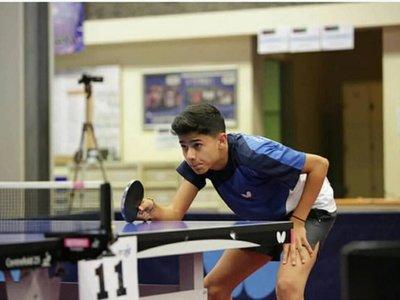 Χάλκινο μετάλλιο στο πανελλήνιο πρωτάθλημα πινγκ πονγκ νέων