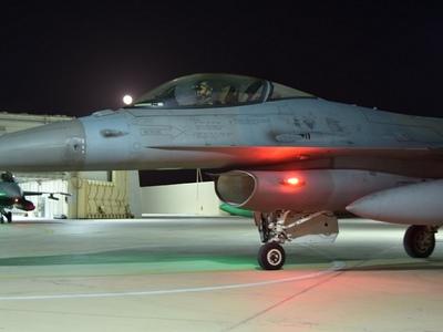 Απόβαση βελγικών πολεμικών αεροσκαφών στον Άραξο