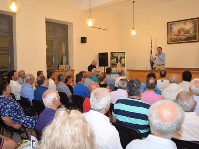 """Γιώργος Κουτρουμάνης: """"Μήνυμα νίκης από την Κάτω Αχαΐα"""""""