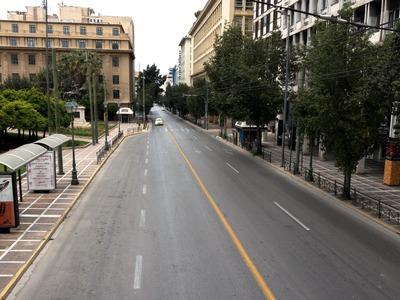 Απαγόρευση κυκλοφορίας στο κέντρο της Αθήνας