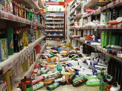 Ζημιές σε σπίτια στην Ανδραβίδα από το σεισμό - ΔΕΙΤΕ ΦΩΤΟ