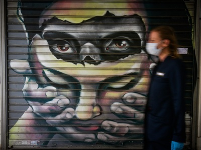 Γκράφιτι και κορωνοϊός!