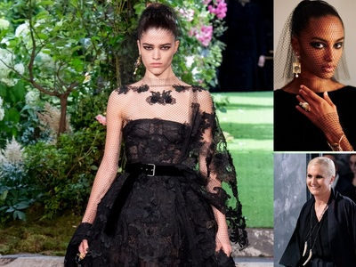 Dior Couture: Total black παριζιάνικη αναπόληση με stars στη front row