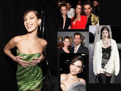 Versace- Dolce e Gabbana: Πασαρέλες και διασημότητες που αναστάτωσαν το Μιλάνο