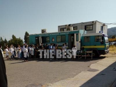 Νοσοκομείο Ρίου: Στην ουρά οι εργαζόμενο...