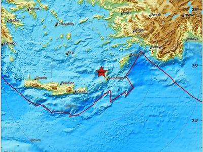 Σεισμός ταρακούνησε Κάρπαθο και Κάσο