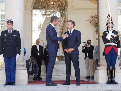 Πρόσκληση Μητσοτάκη στους Γάλλους επιχειρηματίες να επενδύσουν στην Ελλάδα