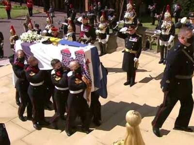 Κηδεύτηκε ο πρίγκιπας Φίλιππος- Σκεπασμέ...