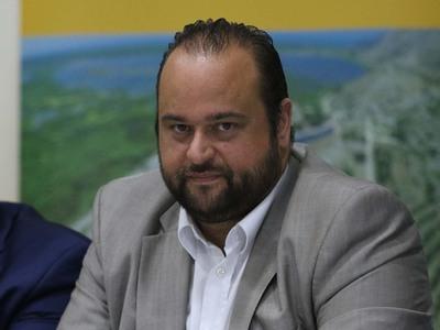 Ο απερχόμενος πρόεδρος και επικεφαλής της παράταξης  Δημοκρατική Συνεργασία Μηχανικών Δυτικής Ελλάδας, Βασίλης Αϊβαλης.