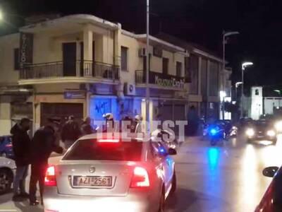 Πάτρα: Μολότοφ κατά Αστυνομικών στο κέντ...