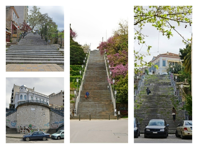 Το σχέδιο ανάπλασης για τις διατηρητέες σκάλες του κέντρου της Πάτρας