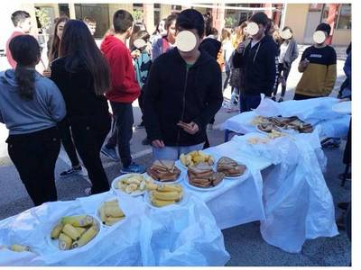 Πάτρα: Εκδήλωση για το υγιεινό κολατσιό έγινε στο 2ο Γυμνάσιο