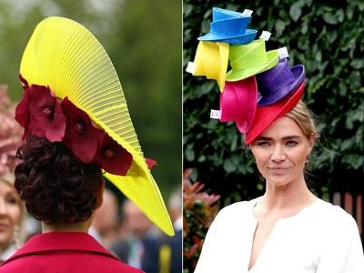 Royal Ascot: Φλούο στα περίφημα καπέλα, στα γαλάζια η Μίντλετον