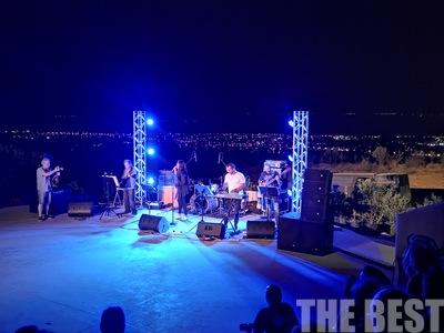 Υπέροχη ροκ βραδιά στο ανοικτό θεατράκι της Κρήνης