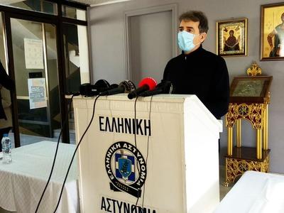Χρυσοχοΐδης: Στην Πάτρα χρειαζόμαστε 100% συμμόρφωση, όχι επισκέψεις (ΒΙΝΤΕΟ)