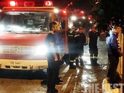 Φωτιά σε μονοκατοικία στο Ακταίο - ΦΩΤΟ και ΒΙΝΤΕΟ