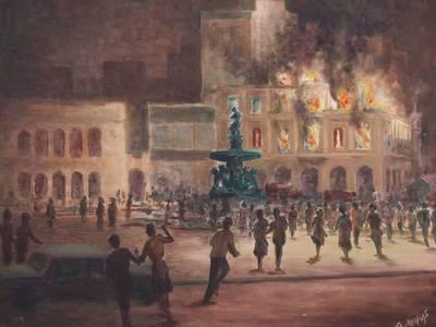 Οι καταστροφικές πυρκαγιές στο κέντρο της Πάτρας - Άνθρωποι πηδούσαν από τα μπαλκόνια για να γλιτώσουν...