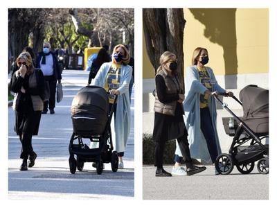 Τζένη Μπαλατσινού: Βόλτα με τον γιο της ...