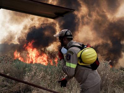 Φωτιά στην Ηλεία: «Πύρινη κόλαση» στο Λά...