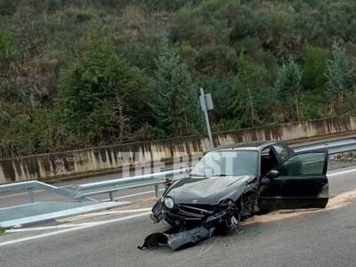 Πάτρα: Στο νοσοκομείο ο 19χρονος οδηγός ...